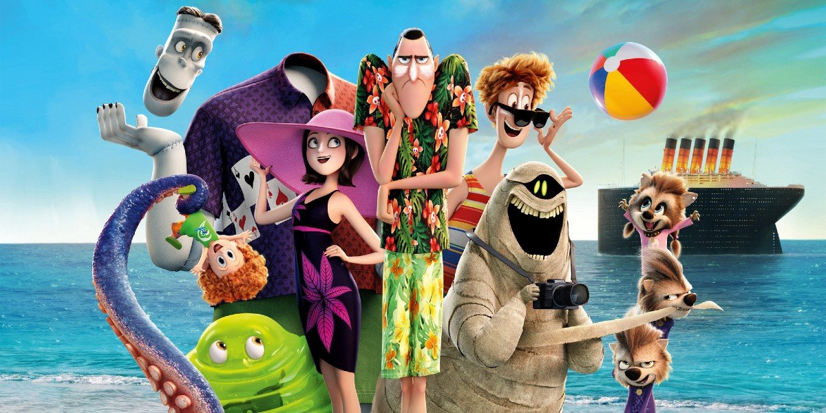 Promotional Material For Hotel Transylvania 3: Summer Vacation
