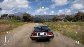 Forza Horizon 5 Delorean