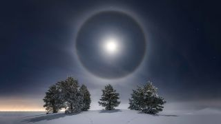 NASA loves Nikon! Stunning lunar halo shot celebrated on NASA website