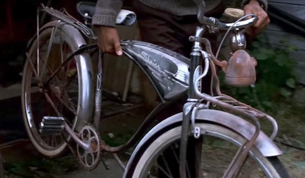 it silver bike