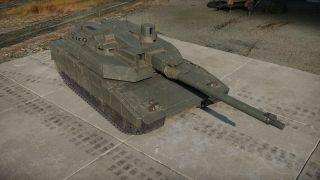 The Leclerc Serie 2 tank.