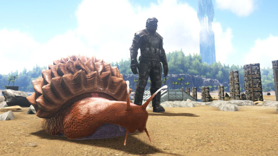 Why I Love Ark S Pickiest Creature A Giant Snail That