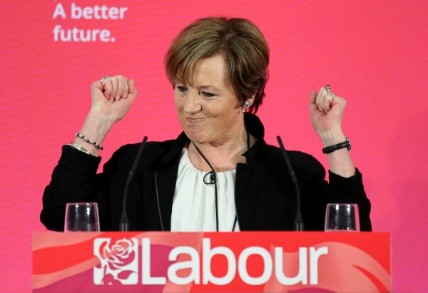 Delia Smith pledges her support for the Labour party
