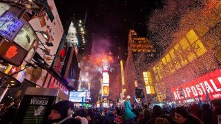 Wisycom Provides RF Coverage For Times Square New Year's Eve Broadcast