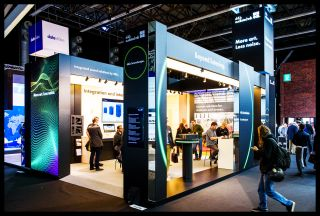 d&b audiotechnik ISE booth