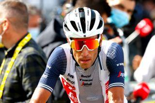 Tour de France 2021 108th Edition 2nd stage Perros Guirec Mur de Bretagne Guerledan 1835 km 27062021 Vincenzo Nibali ITA Trek Segafredo photo Luca BettiniBettiniPhoto2021