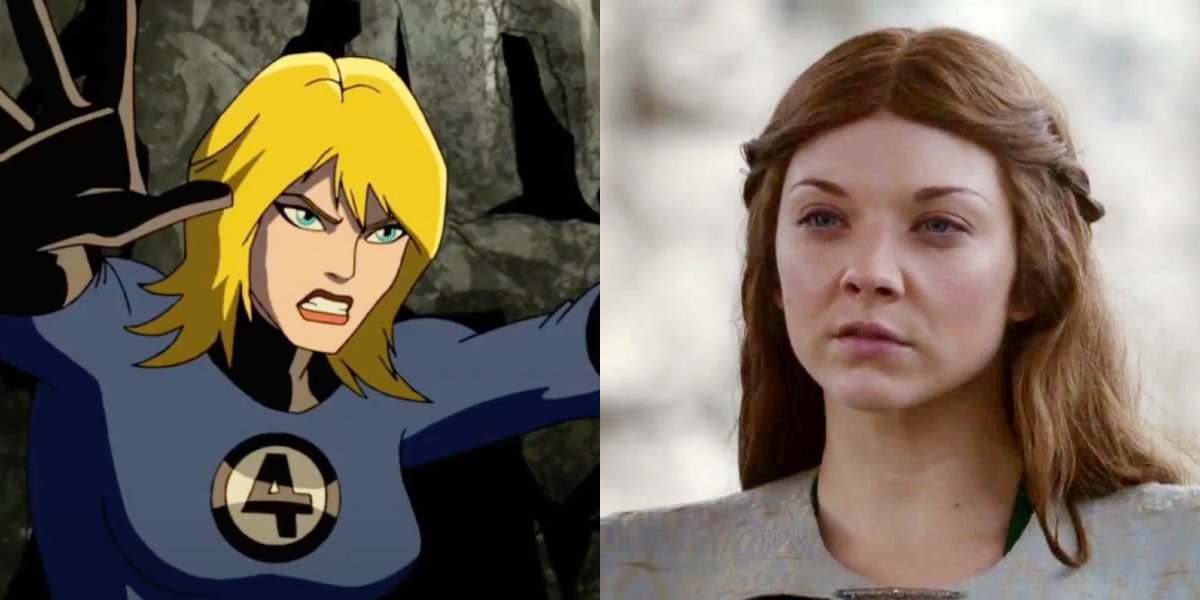Sue Storm and Natalie Dormer in Game Of Thrones