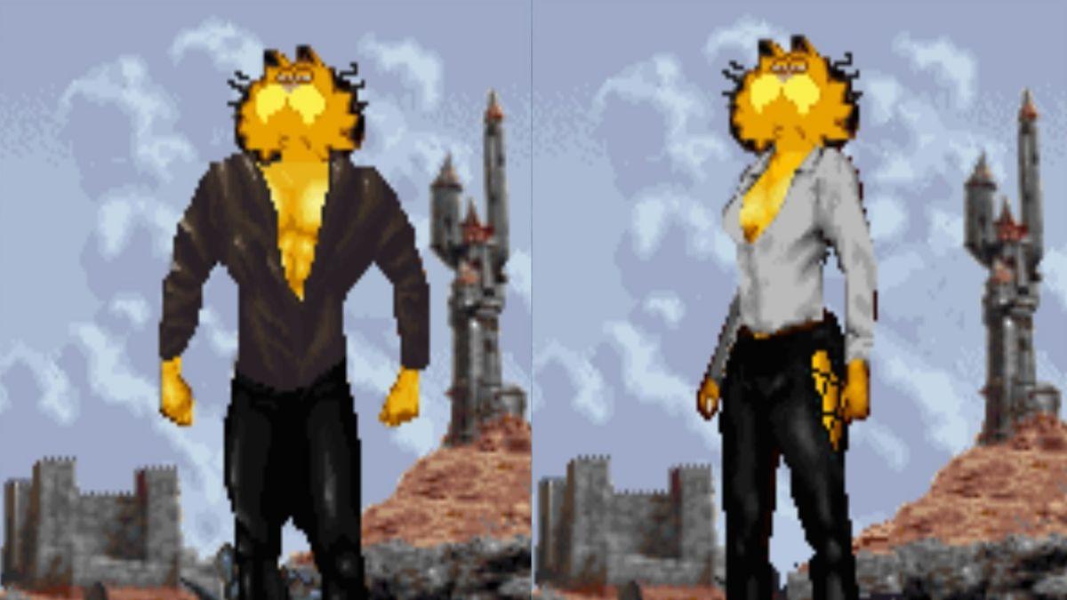 Putting Garfield In The Elder Scrolls Arena Was A Mistake Pc Gamer