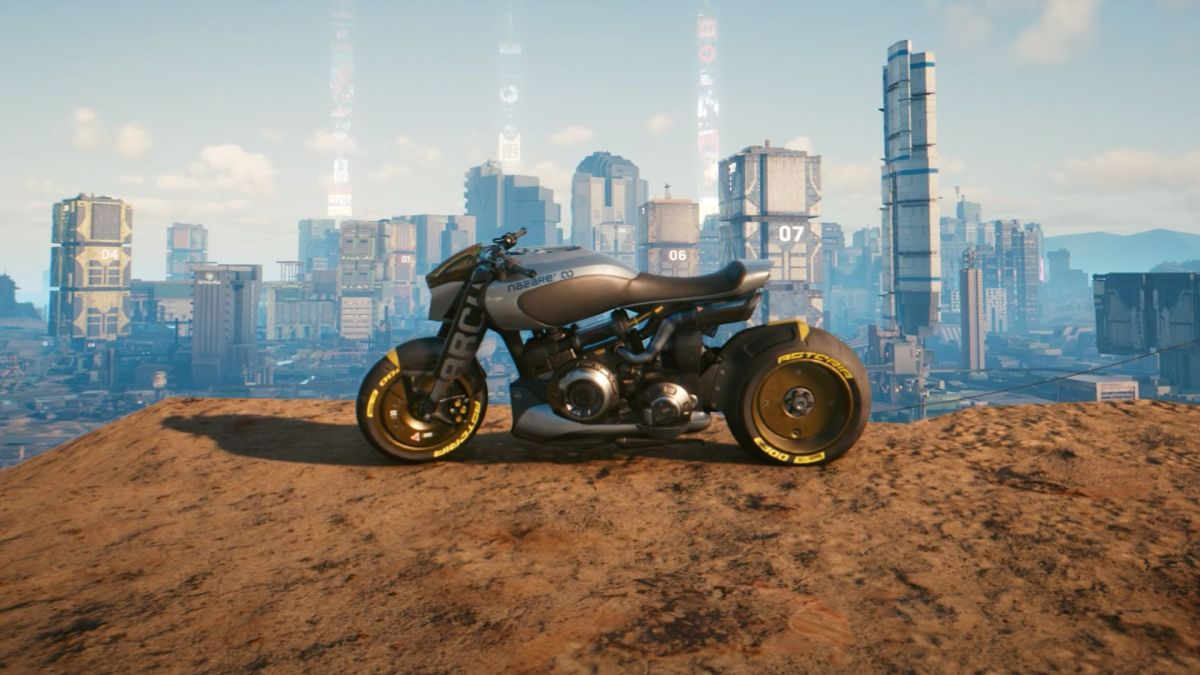 This Cyberpunk 2077 motorcycle is made by Keanu Reeves' company – GamesRadar+ AU
