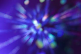 abstract image of light speed.