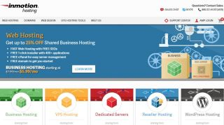 InMotion shared business hosting came top of our reviews