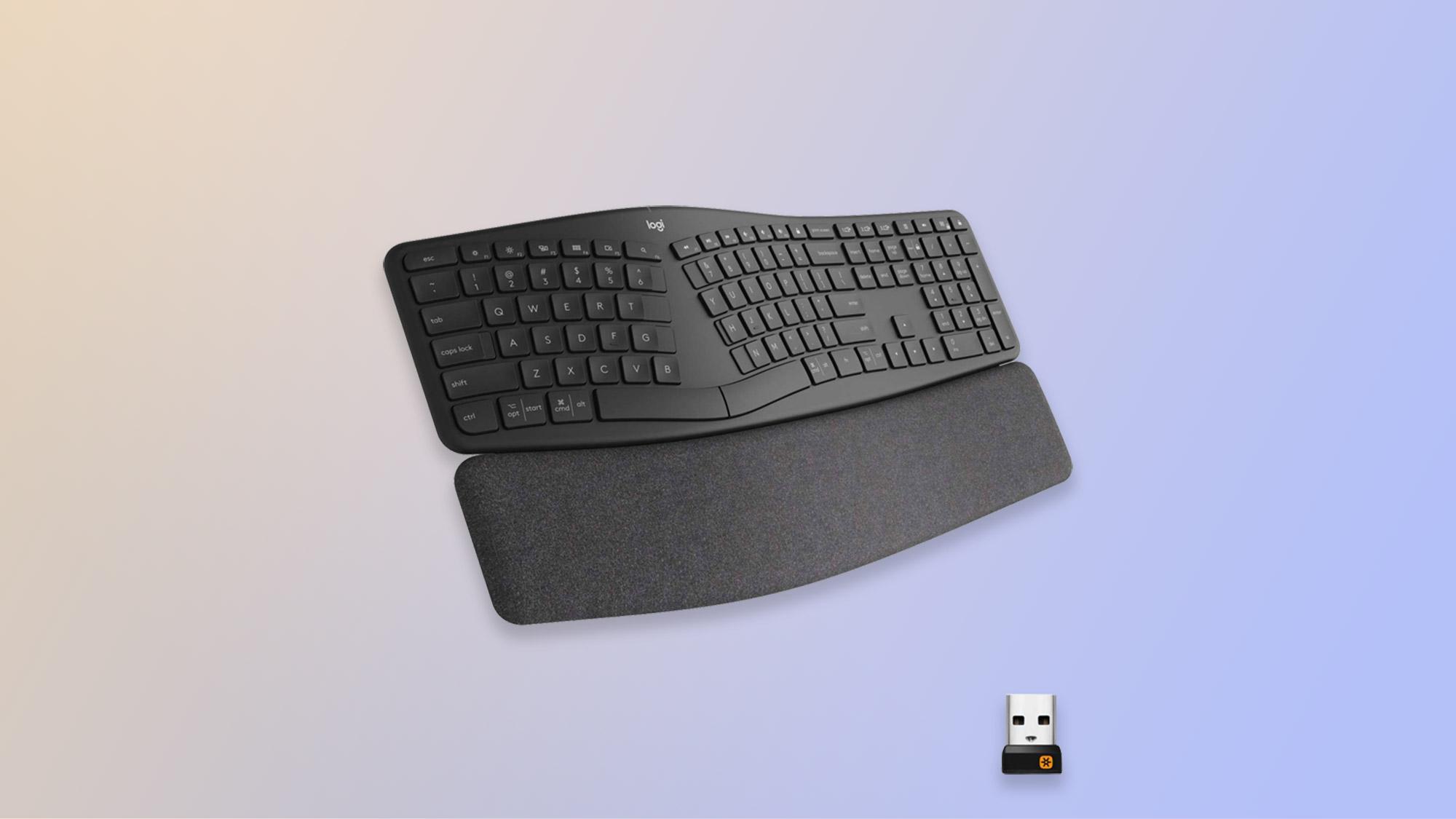 El mejor teclado: Logitech Ergo K860