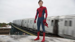 "Tom Holland is (spoiler!) Spider-Man in ""Spider-Man: Homecoming."""