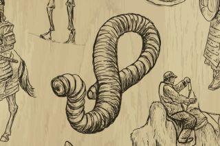 Mongolian Death Worm, folklore