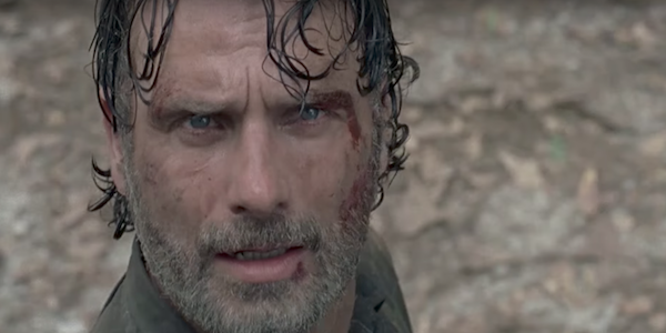 the walking dead rick face