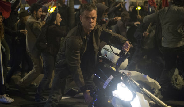 Matt Damon is Jason Bourne