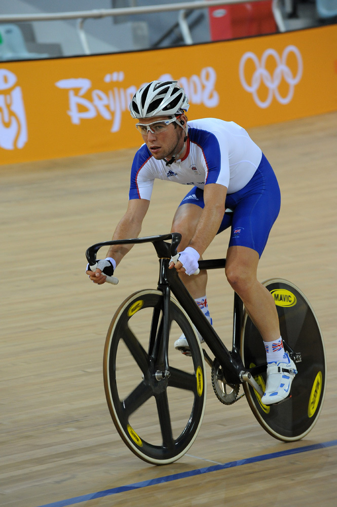 Mark Cavendish training Olympic Games 2008