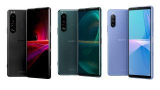 Sonys 2021 Xperia lineup