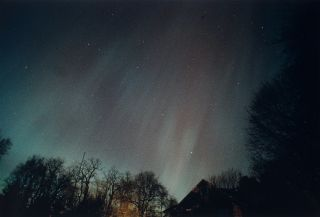 Aurora of March 13, 1989, from Sea Cliff, NY