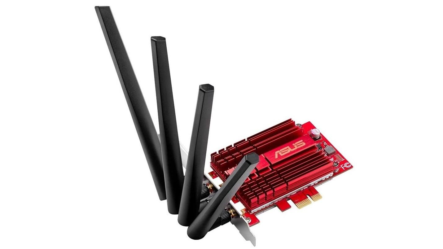 ASUS PCE-AC88 Wireless PCI-E Network Interface Card