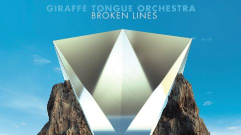 Giraffe Tongue Orchestra - Broken Lines album art