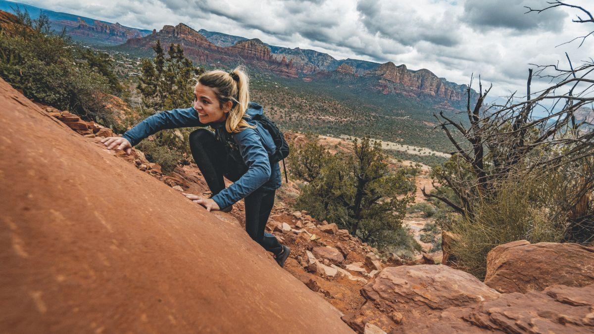 "What is ""scrambling"" in hiking?"