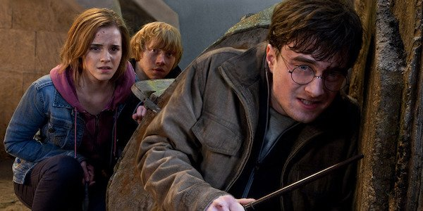 Harry Potter and the Deathly Hallows Harry, Ron and Hermoine