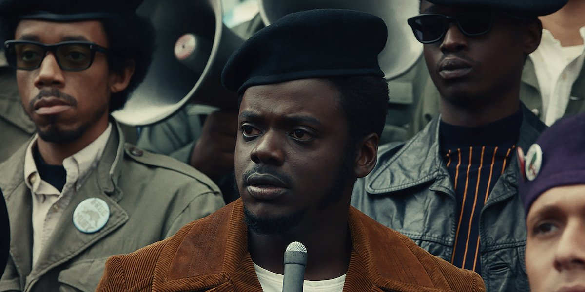 Daniel Kaluuya as Fred Hampton in Judas and the Black Messiah