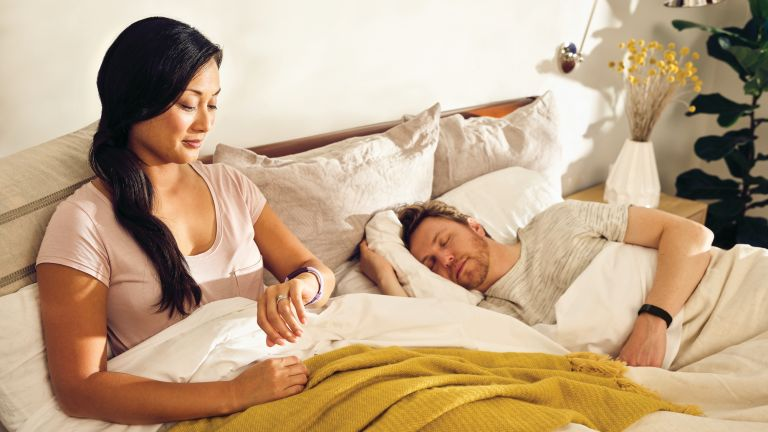 best sleep tracker: Fitbit