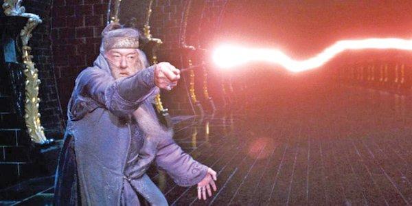 dumbledore wand laser
