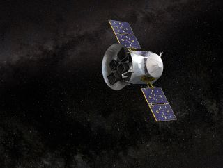 TESS spacecraft art