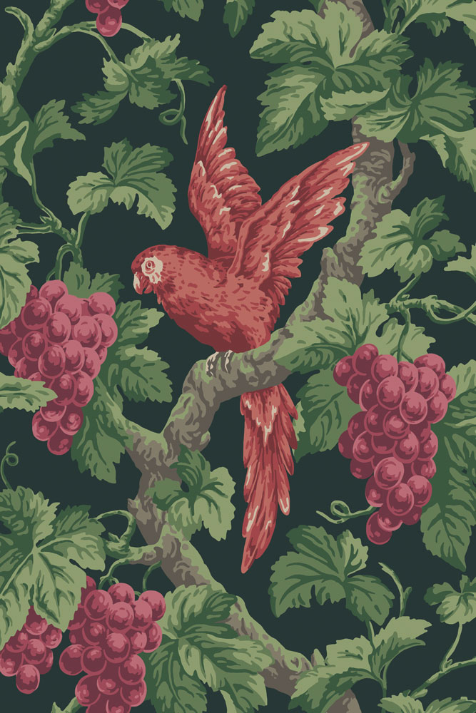 Cole & Son revive classic wallpaper prints in new Pearwood collection