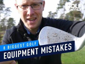 Golf Equipment Mistakes