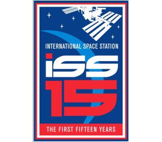 International Space Station First Fifteen Years Logo