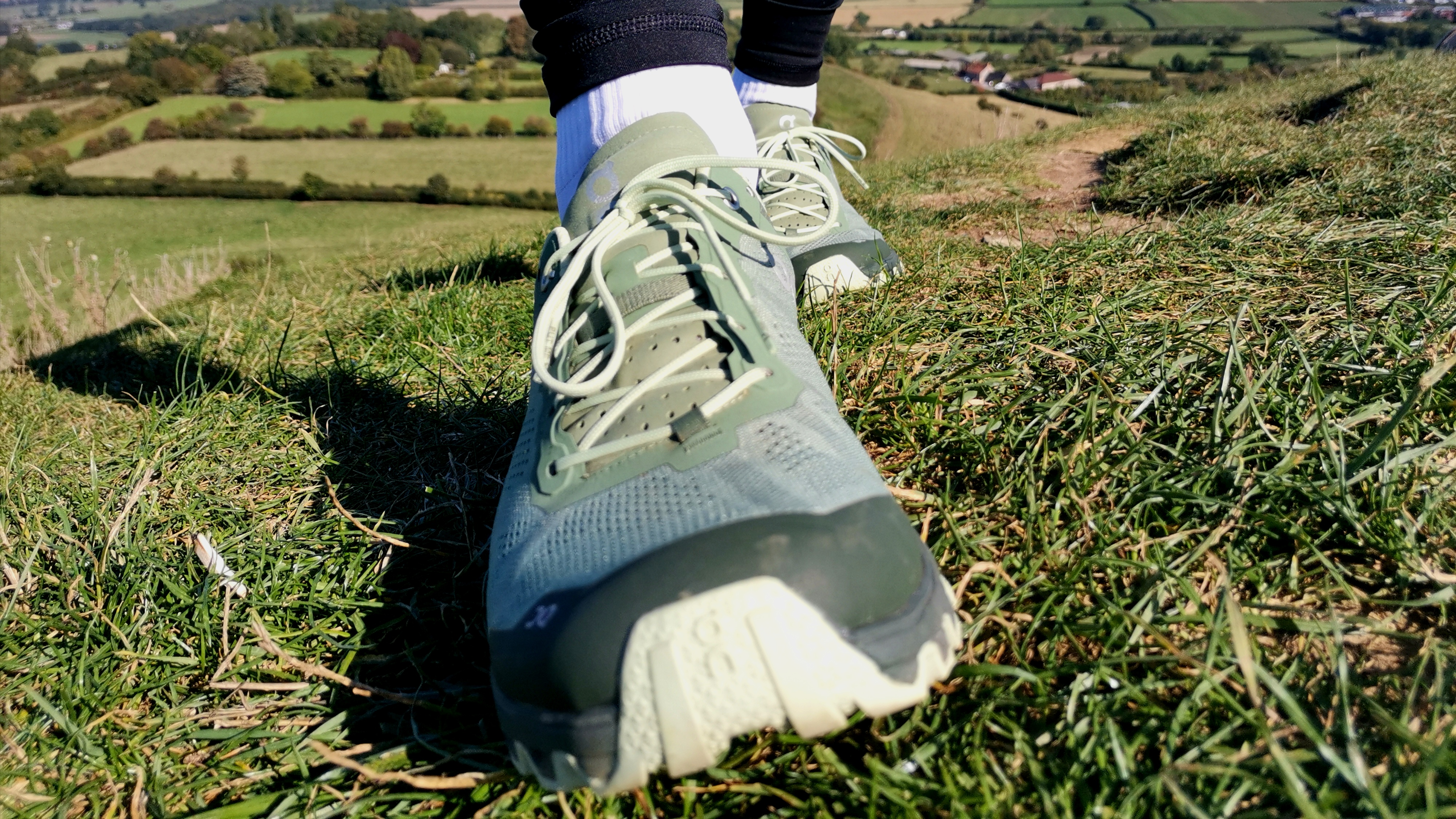 a firm Nike Pegasus Trail running shoes