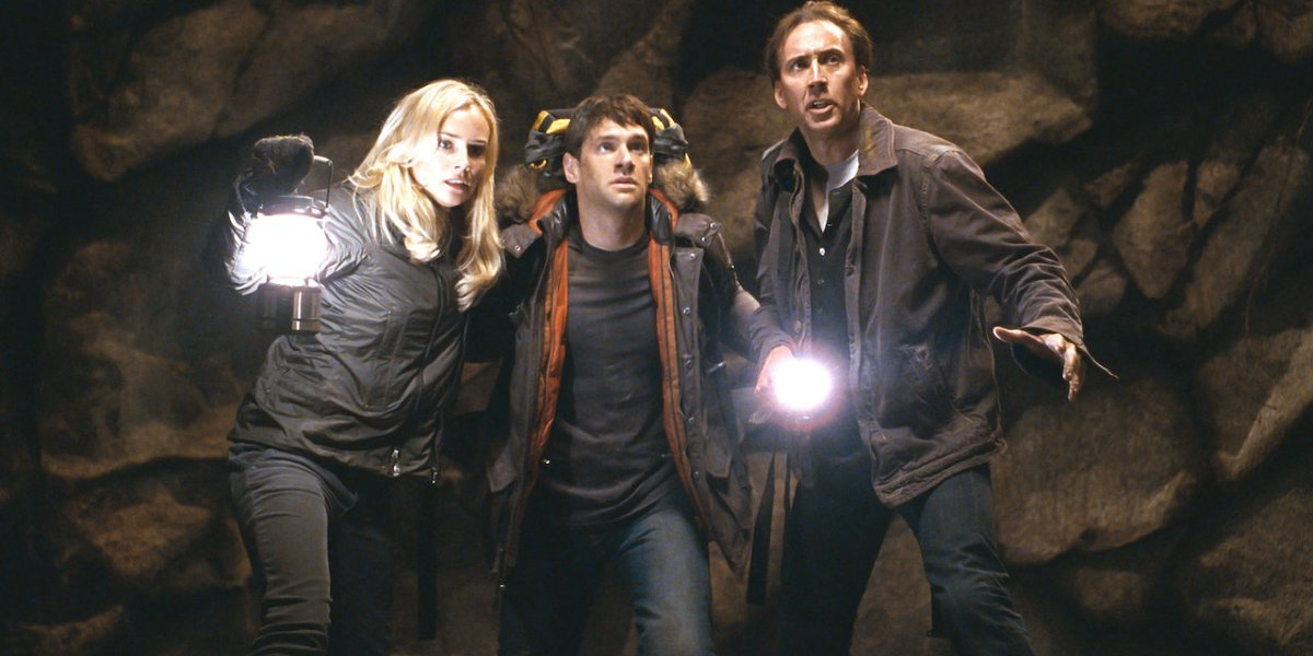 Diane Kruger, Justin Bartha, Nicolas Cage - National Treasure: Book of Secrets