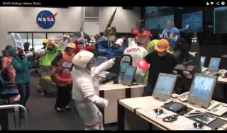 NASA doing the Harlem Shake
