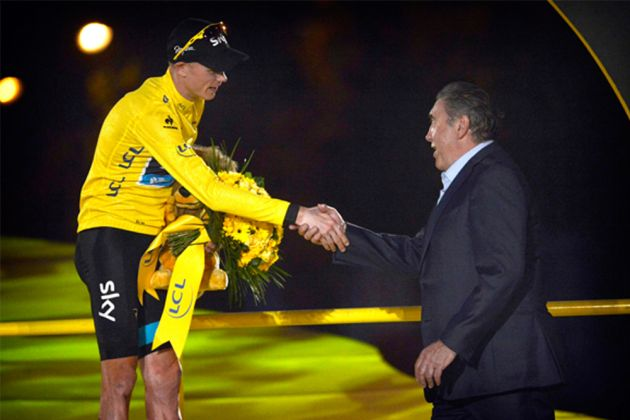 Chris Froome was 28 when he won the Tour de France; Eddy Merckx was 24 when he took the first of his five wins. Photo: Graham Watson