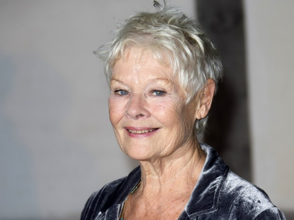Judi Dench at the Globe Theatre in central London, for a Gala evening