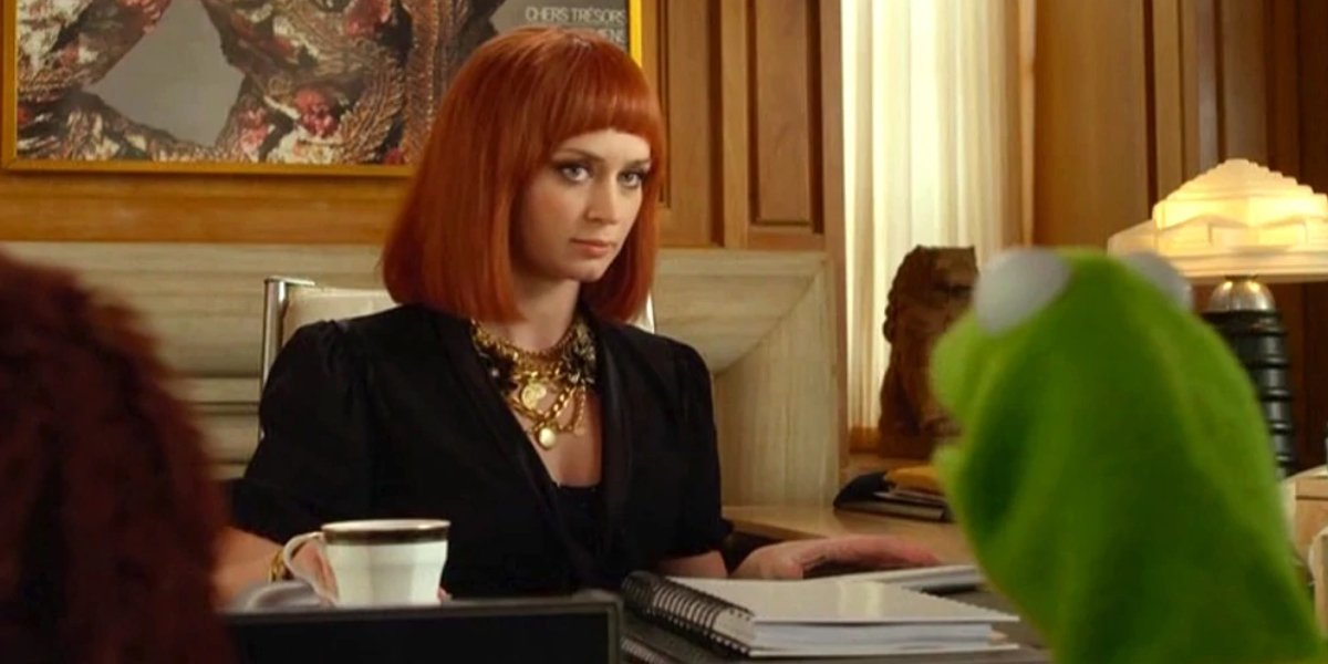 Emily Blunt in The Muppets