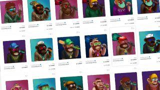 Evolved Apes NFT images
