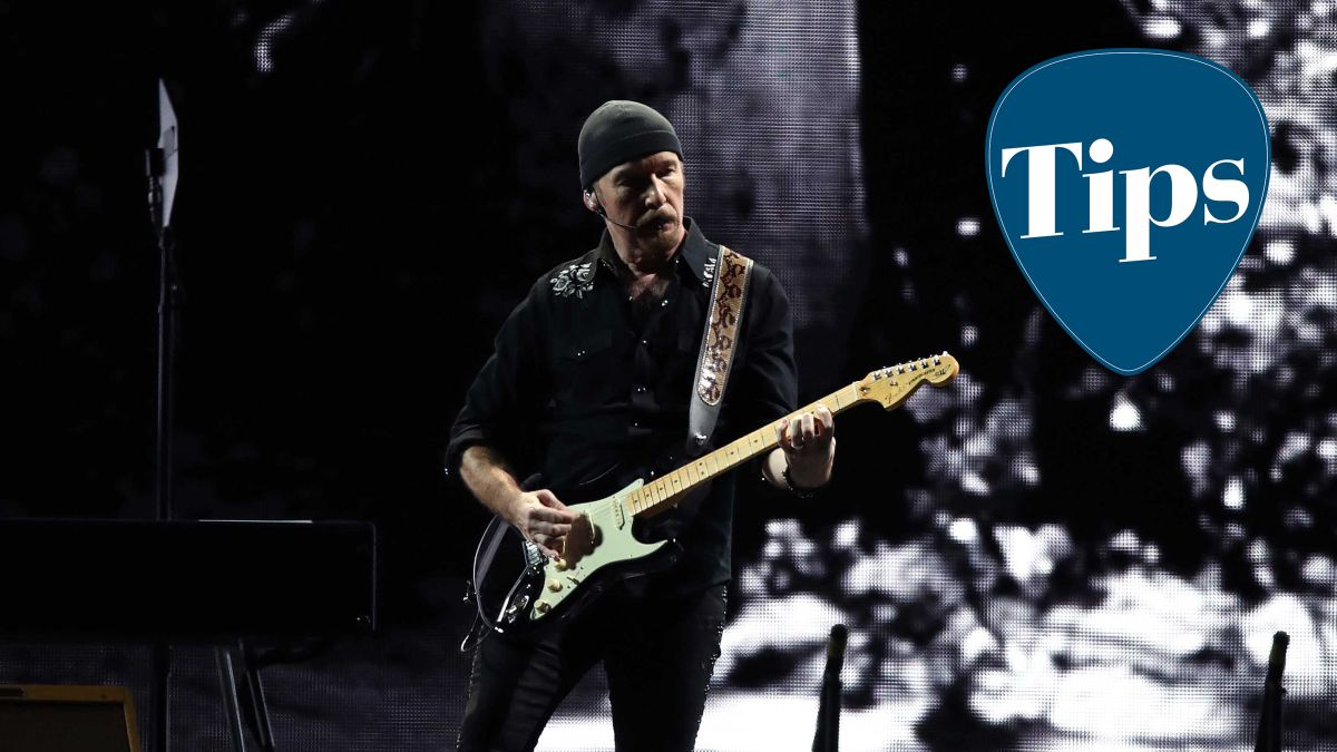The Edge's guitar tip for using delay can make you a tighter player