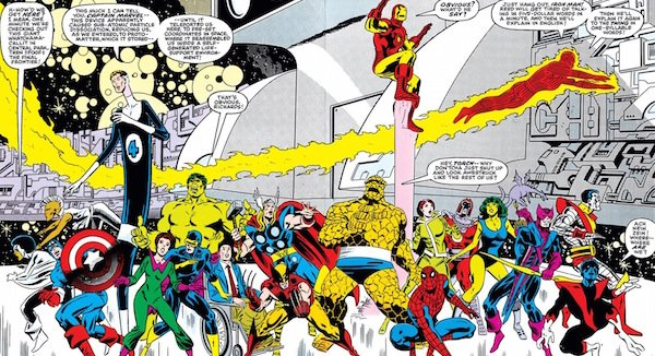 Marvel Comics Secret Wars