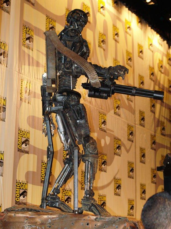 Comic Con In Photos: Terminator Salvation's T-600 #118