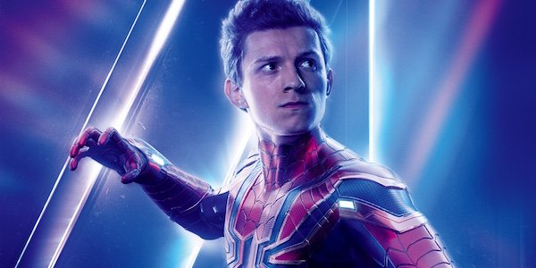 Tom Holland in Avengers: Infinity War