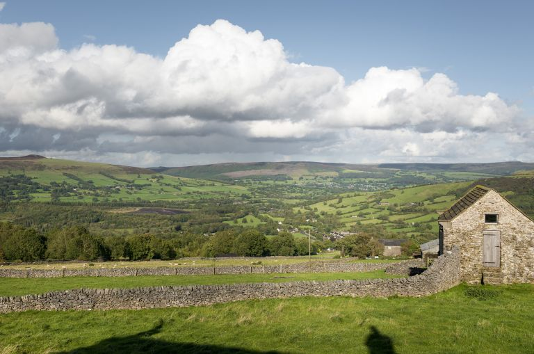 landscape view of hope valley