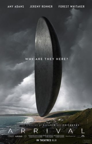 """Arrival"" movie poster"