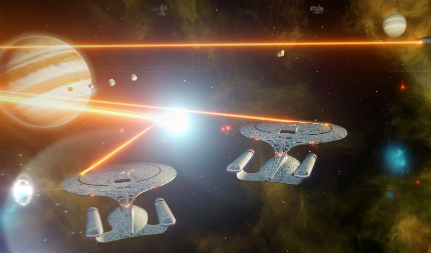Stellaris Star Trek total conversion mod launches impressive update