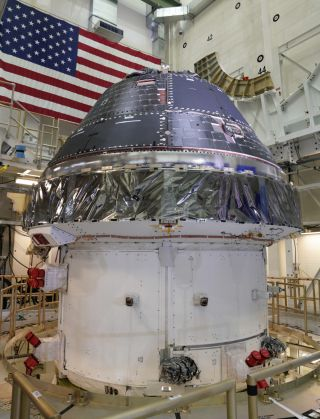 On the anniversary of the Apollo 11 moon landing, the Lockheed Martin-built Orion capsule for the Artemis 1 mission around the moon was declared finished.