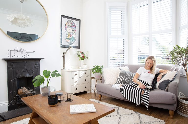 Serial mover Emma Peleshok has finally found the home of her dreams in a period terrace on a favourite stree